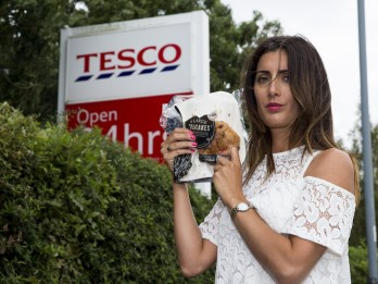 Mum disgusted after she found a rat's tail in a Tesco finest teacake
