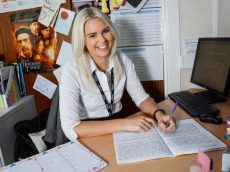 Former Head Girl Returns To School As Teacher In Her Old Classroom