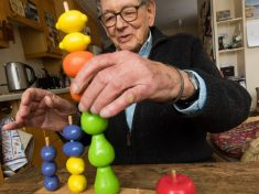 Real Life Geppetto Is 91 Years Old And Created Iconic Toys Today Including Marble Run And The Chopper Bicycle