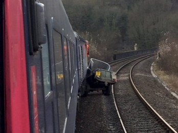 Man Dies After Land Rover Is Hit By A Train On Level Crossing