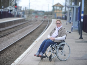 Disabled Woman Blasts Rail Firm For Refusing To Help Her Board Train Without A Ramp