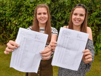 Identical twins stunned when they received the exact same GCSE results