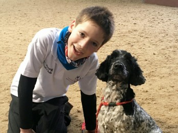 11-Year-Old Dog Handler Will Be The Youngest Ever Member Of Team GB At European Agility Championships