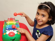 WATCH – Three-Year-Old Baffles Parents With Her Extraordinary Memory – By Being Able To Play 41 Songs On The Xylophone