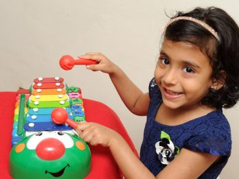 WATCH - Three-Year-Old Baffles Parents With Her Extraordinary Memory - By Being Able To Play 41 Songs On The Xylophone