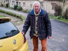 Yellow Cars Rally In Village To Support OAP Told His Was An Eyesore