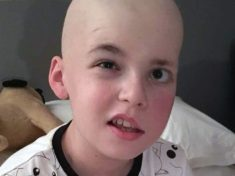 Schoolboy Is Learning To Walk, Talk And Swallow Again After Having One Of His Five Brain Tumours Removed