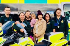 999 Call Records Moment Mum Gives Birth In Car And New Dad Gives His Address As 'M5 Junction 14'