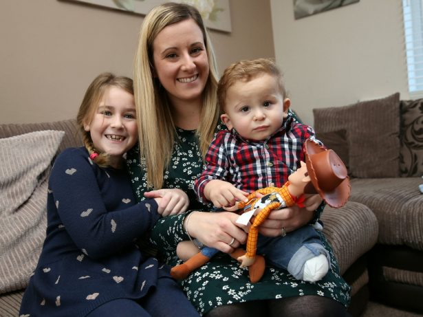 Family Appealing For Help To Get Prosthetic Limbs For Their Baby - Because He Was Born Without Leg Bones