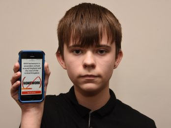 Schoolboy Aged 15 Launches Petition To Ban HOMEWORK In Secondary Schools Around The UK