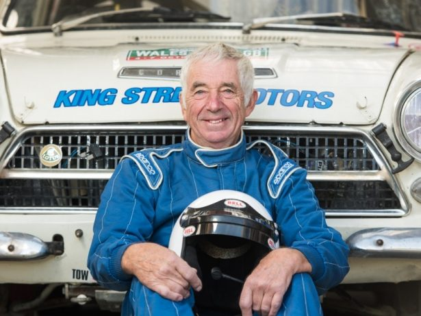UK's Oldest Rally Driver Who Has Racked Up Half A Million Miles Behind The Wheel Still Competing Aged 80