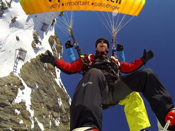 Meet Britain's Fearless Blind Daredevil