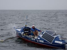 Former Royal Marine Begins His Attempt To Be The First Blind Person To Row The Pacific