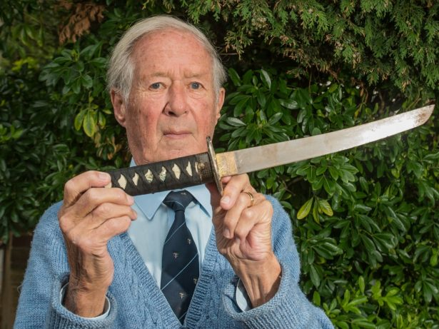 Bungling Police Tell Pensioner They Are Too Busy To Collect Blood-Stained Sword Thugs Dumped In His Hedge