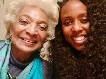 Emotional Footage Shows Star Trek Actress Telling A Close Friend She Never Wants To Stop Working - Despite Her Son Trying To Make Her Quit