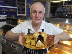 Chip Shop Boss Has Created What May Be The Booziest Christmas Treat!