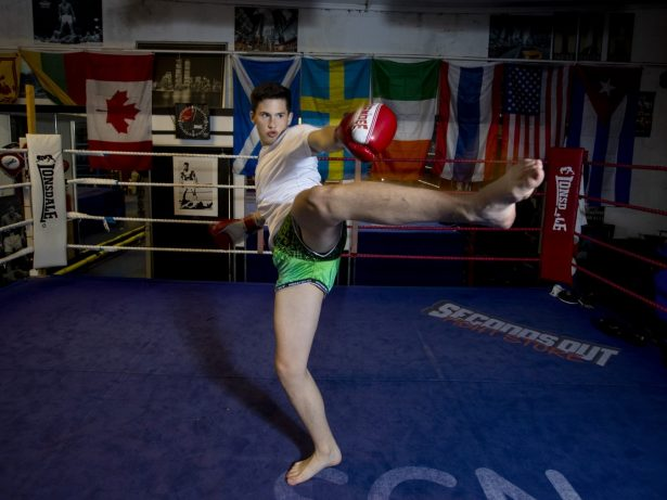 Teen Prodigy Crowned World Champion In Kickboxing And Thai Boxing After Taking Up The Sports To Keep Him Off The Streets