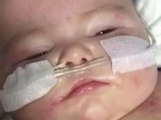 WATCH: Emotional Moment Meningitis-Struck Toddler Wakes After Being Unconscious For A Week Following Surgery