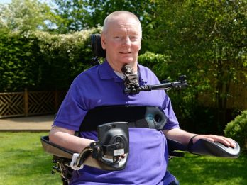 Former fighter pilot left paralysed following freak holiday accident due to take part in Great Manchester run