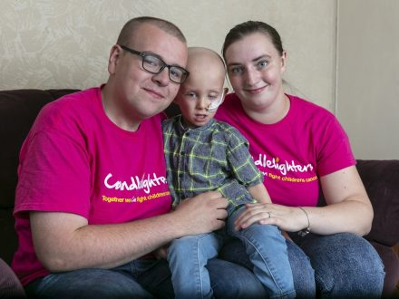 One Of Britain's Youngest Testicular Cancer Patients Is Fighting The Disease Aged FIVE After Parents Discovered Tumour The Size Of A GOLF BALL