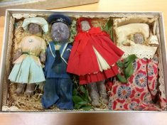 Box Of Chocolate Figurines Given To Little Girl More Than A Century Ago Were So Precious She Kept Them Until Her Death