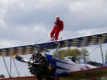 Cloud Nine-ty: 91-Year-Old Daredevil Gran Sets New World Record For Oldest Female Wing Walker