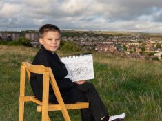 Budding Artist Can Recreate Intricate Land And Cityscapes From Memory At Just Nine Years Old