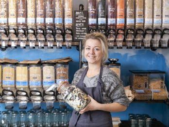 Shop Owner Has Opened Her First Eco-Friendly Premises - Which Is Completely PLASTIC-FREE