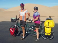 Middle-Aged Couple Quit Their Jobs To Go Travelling 11,500 Miles Around The World On A Tandem Bike