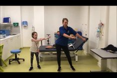 Hospital Staff Perform The 'Floss Dance' In Send-Off To Young Patient Going Home
