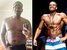 Doughnut Addict Who Ballooned To 19 Stone Sheds Third Of His Body Weight To Become Body Builder