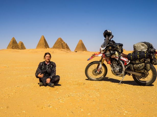 Gran Became First Briton To Travel Around The World On A Motorcycle - And Visit All Seven Continents