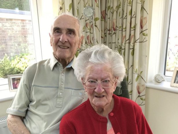 Couple Who Have Never Spent A Night Apart Celebrate 70 Years Of Marriage
