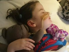 Inspirational Little Girl Learns To Walk And Talk Again After Being Struck With Rare Brain Condition