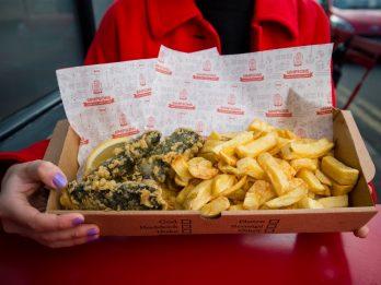 Takeaway Serves Up Vegan Fish And Chips - Using Tofu And Seaweed
