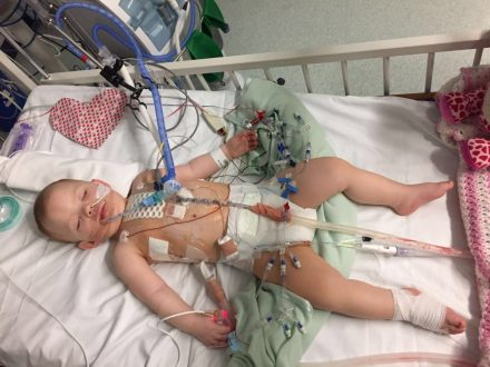 Mum Of Baby Born With Hole In Her Heart Has Hit Out At Government After Life-Saving Op Was Cancelled FIVE Times