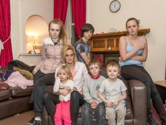 Jobless Mum-Of-Seven Who Is Pregnant With Twins Demands Bigger Council House - Because She Has Uneven Floors, No TV And Lives Near A Road