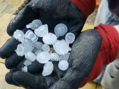 Thousands Of Pounds Worth Of Damage After Giant Hailstones The 'Size Of Golf Balls' Fall From Sky