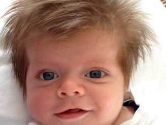 Is This Britain's Hairiest Baby? - Adorable Newborn Was Born With Full Head Of Hair That Covered His Eyes