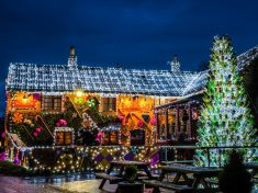 Pub Landlord Transforms His Boozer Into Gingerbread House For Christmas