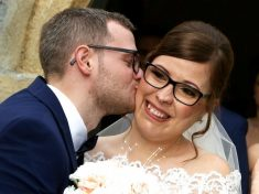"""""""There Is A Happy Ending"""" : Woman Born With Severe Facial Deformity Beams On Her Wedding Day"""