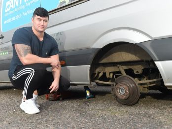 Man Saved From Being Crushed By 2.5 Tonne Van By Heroic Neighbour Who Lifted Vehicle