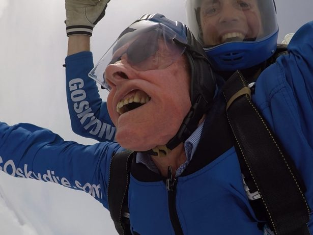 94-Year-Old World War Two Veteran Takes First Sky-Dive 74 Years After D-Day