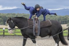 These Are The Amazing Children With Disabilities That Perform Gymnastics – On A Moving HORSE