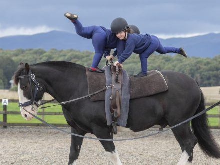 These Are The Amazing Children With Disabilities That Perform Gymnastics - On A Moving HORSE