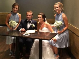 Loved-Up Couple Tied The Knot In The Place Where They Met - A Starbucks Coffee Shop