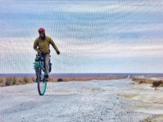 Unicyclist Completes Epic World Tour 18,000 Miles Across Four Continents On One Wheel