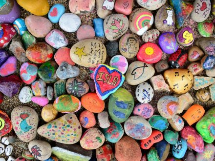 Thousands Of Painted Stones Have Been Laid In Memory Of Brave Seven-Year-Old Girl Who Died From Cancer