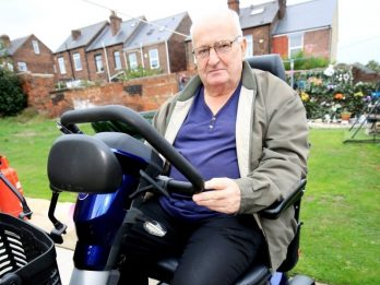 Disabled Man Furious After KFC Refused To Serve Him At Drive-Thru On Mobility Scooter