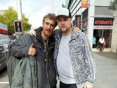 Homeless Man Left In Tears When Stranger Gives Him His £120 Trainers